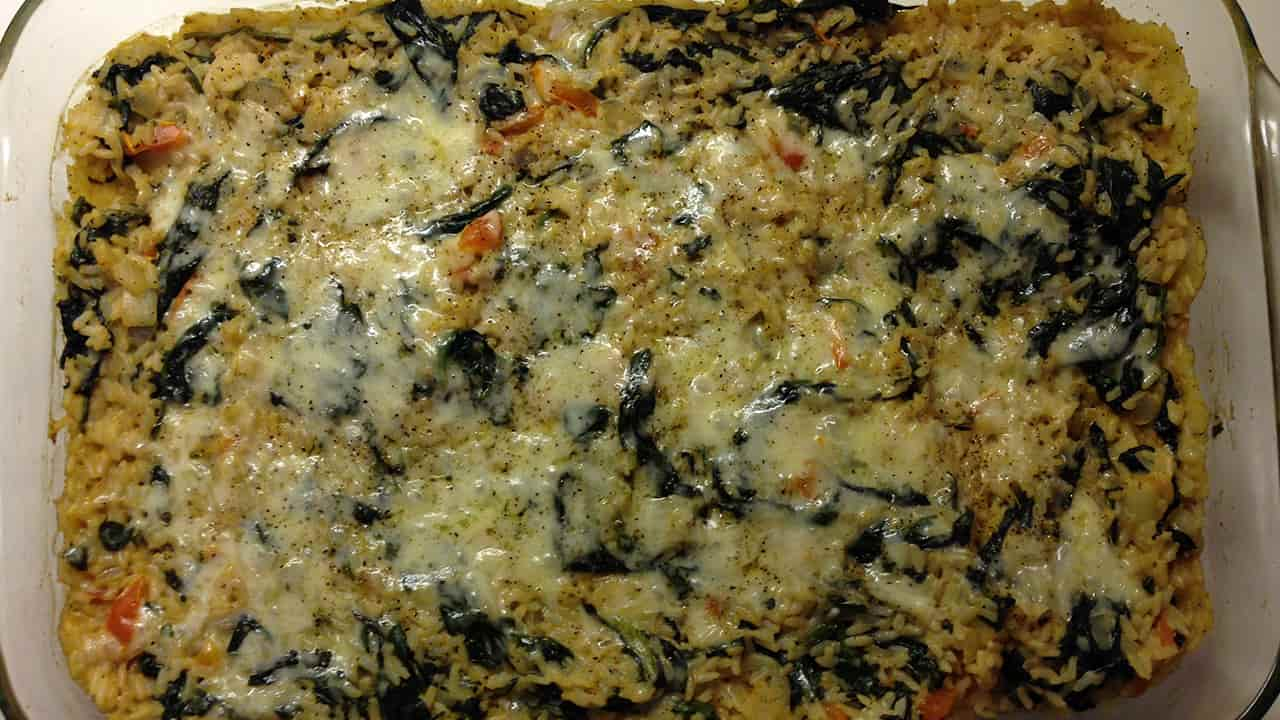 sformato di riso e verdure