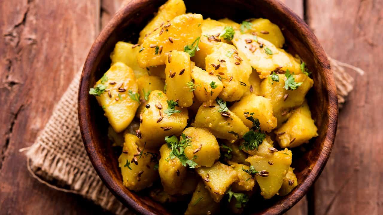 Patate esotiche con spezie