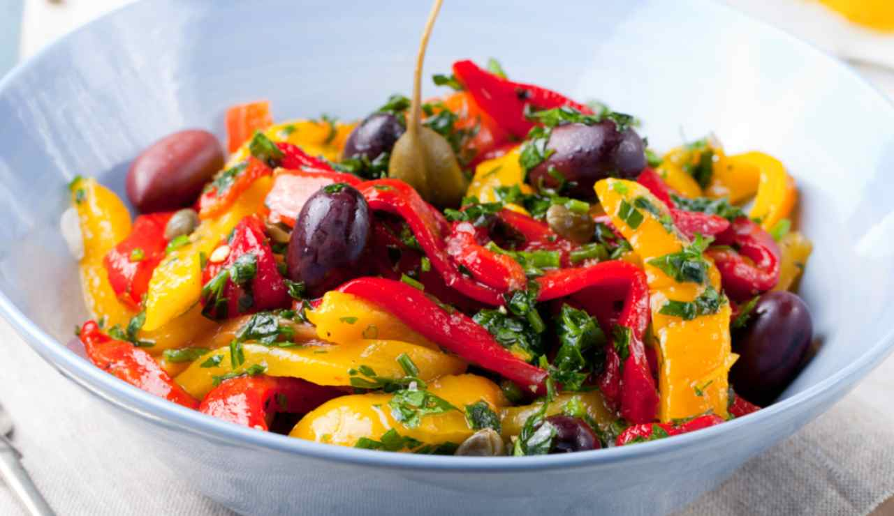 peperoni alla mediterranea ricettasprinr