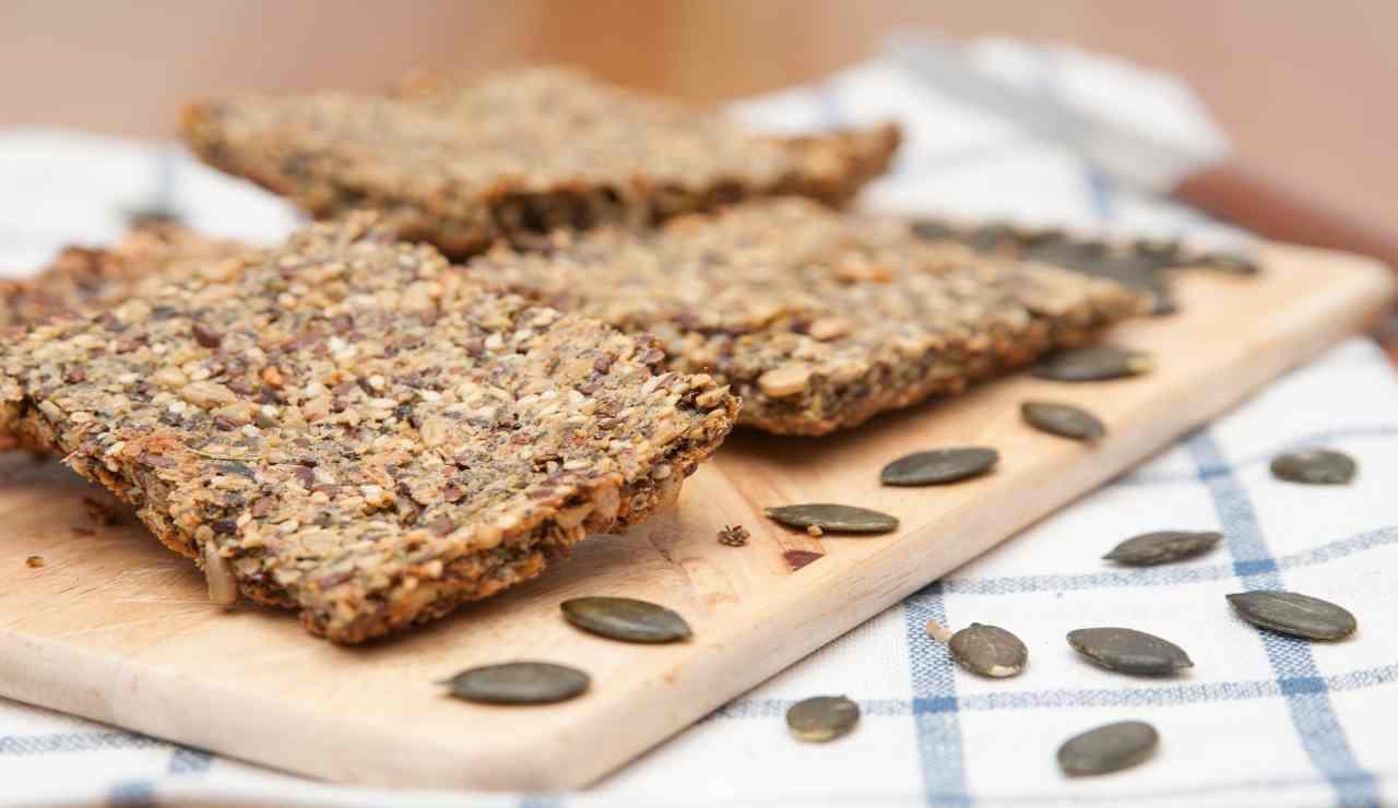 Biscotti integrali ai semi di zucca