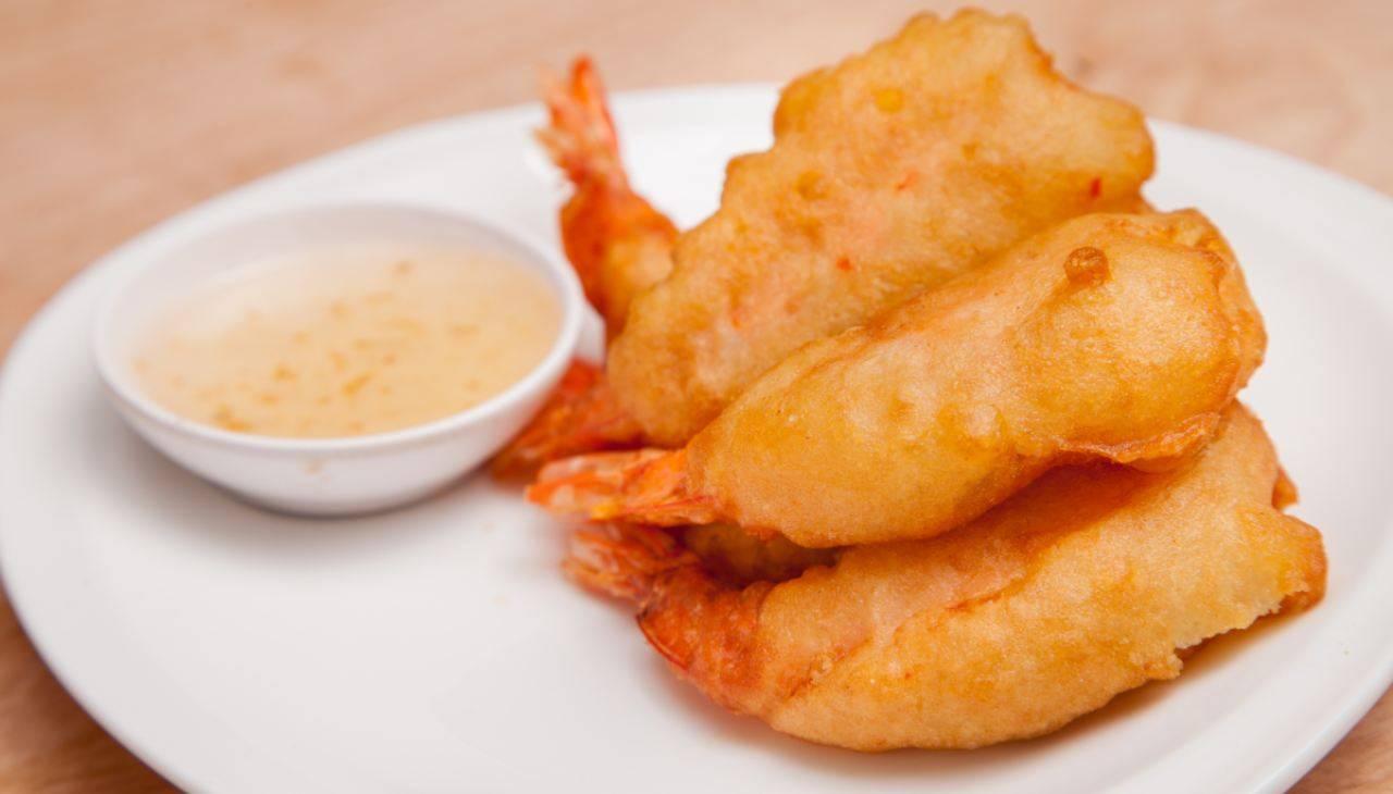 Finger food da cocktail di crostacei