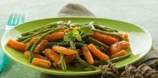 carote fagiolini origano ricetta FOTO ricettasprint