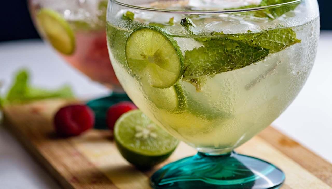 Drink estivo per adulti e bambini