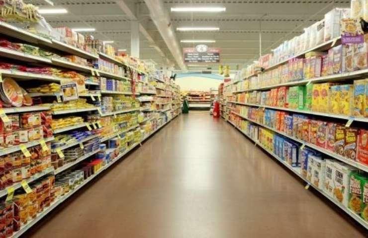 Corsia di supermercato