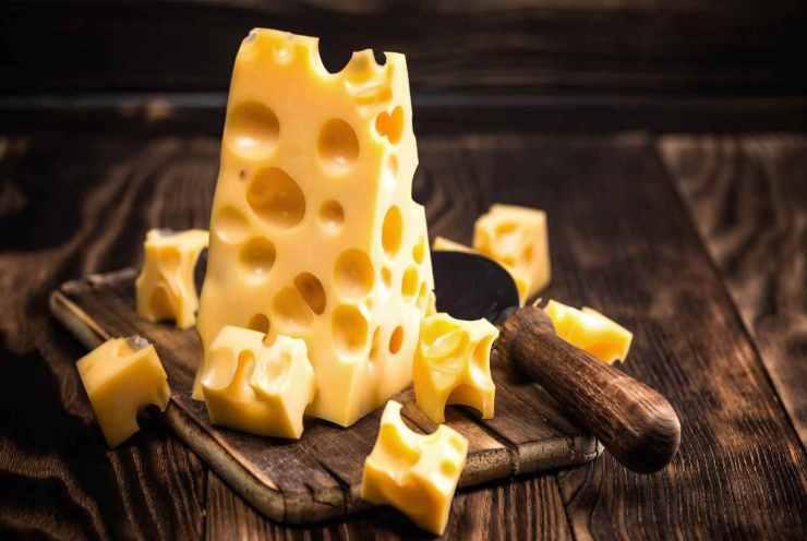 Crackers all'emmenthal FOTO ricettasprint