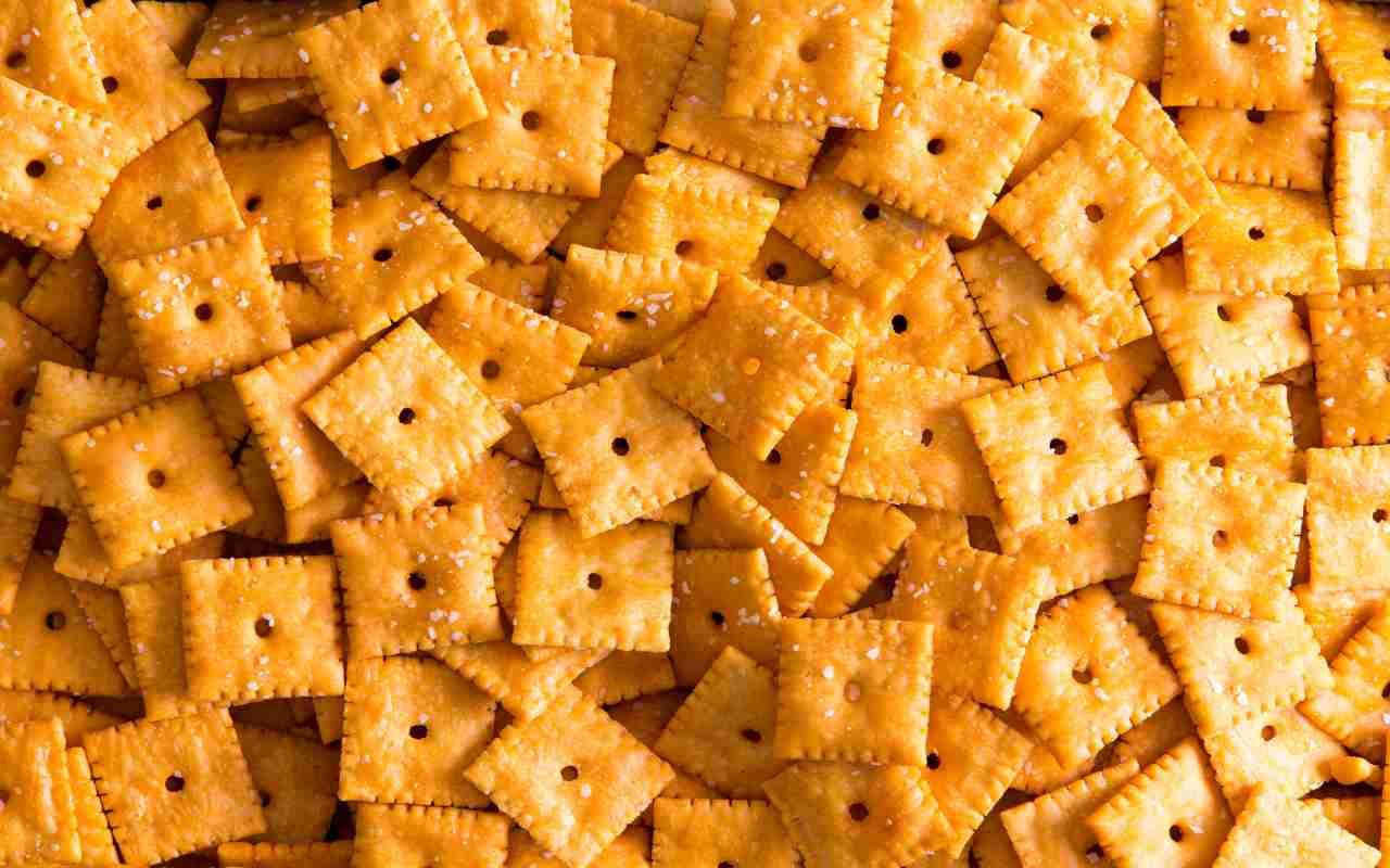 crackers emmenthal ricetta FOTO ricettasprint