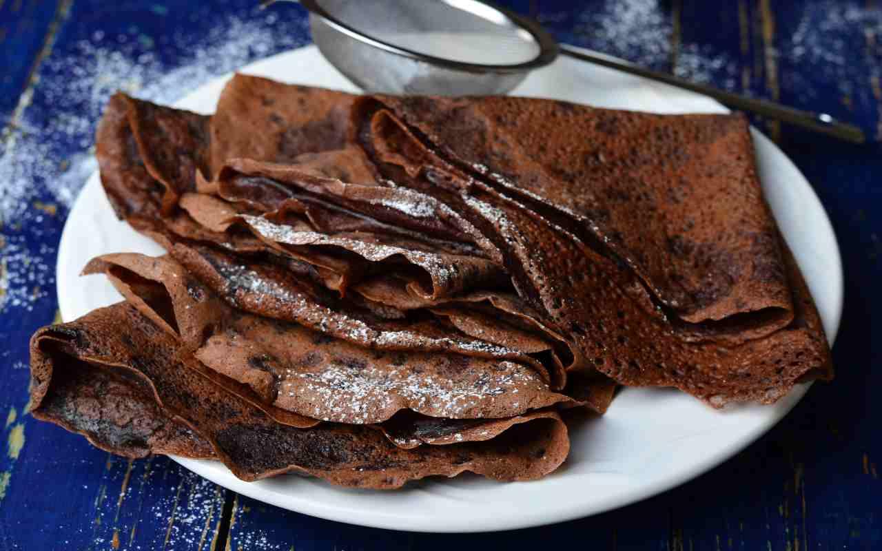 crepes cacao ricetta FOTO ricettasprint