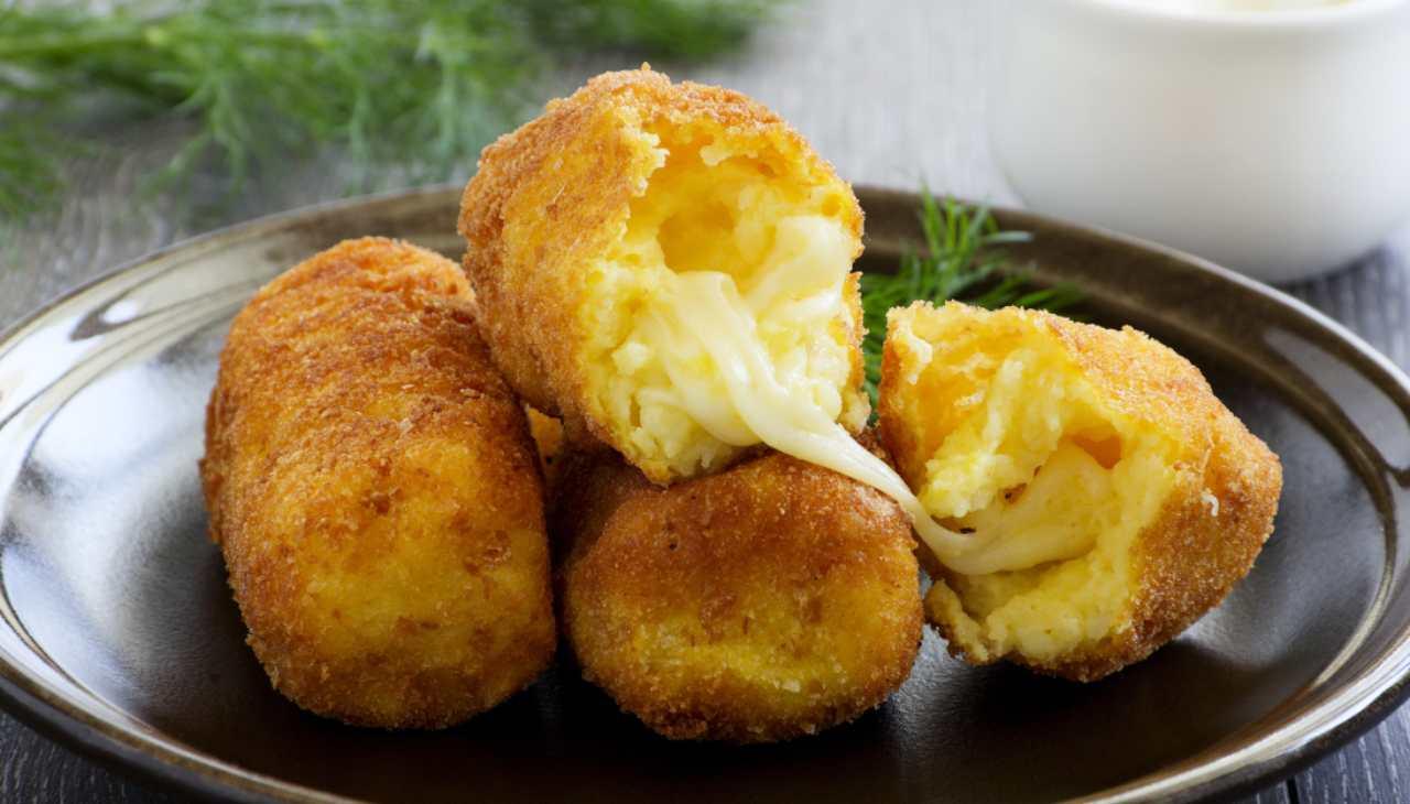 Stuzzichini con cuore di formaggio fontina