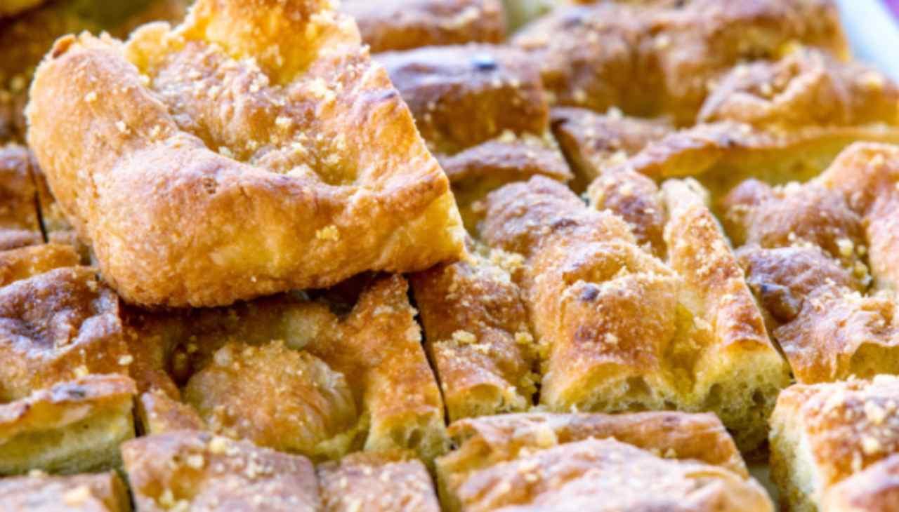 Finger food alto, morbido e con crosticina dorata