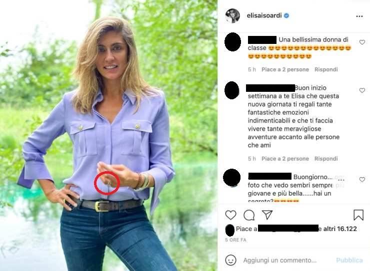 Elisa Isoardi single anello - RicettaSprint