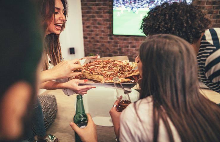Euro 2020 pizza cibo preferito