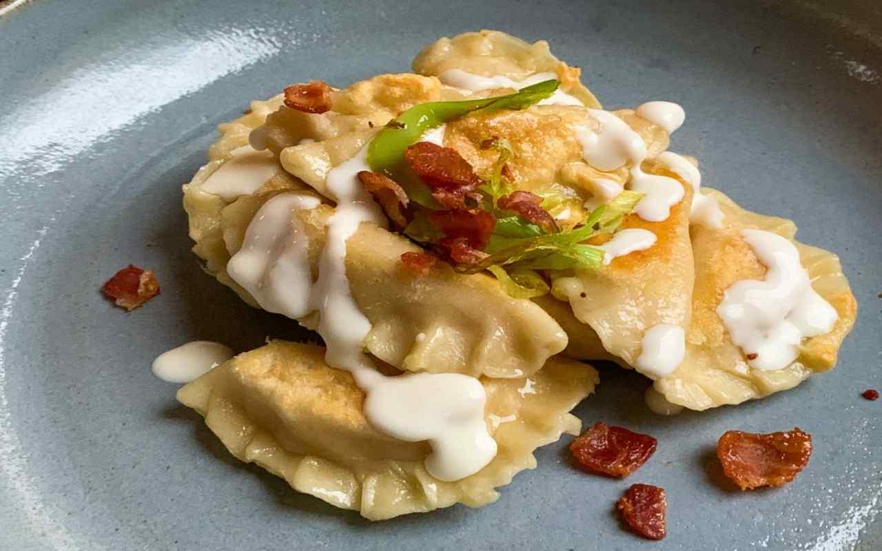 fagottini patate porro ricetta FOTO ricettasprint
