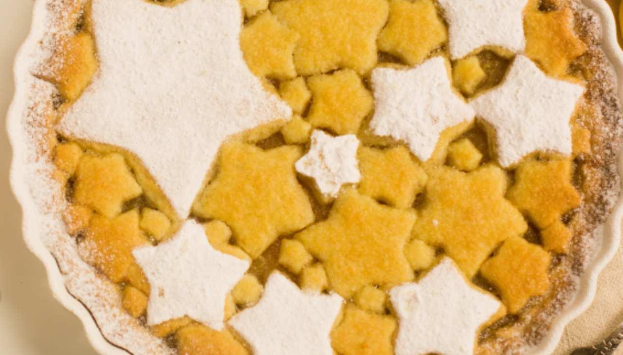 Dolce di pasta frolla senza burro e uova