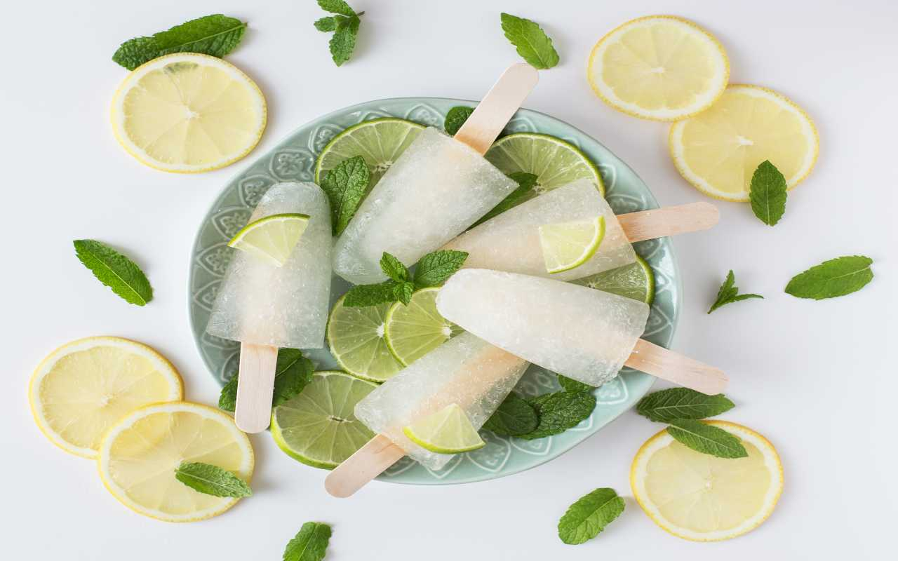 ghiacciolo limone ricetta FOTO ricettasprint