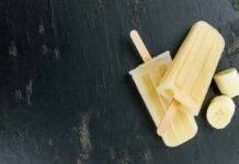 ghiacciolo banana ricetta FOTO ricettasprint