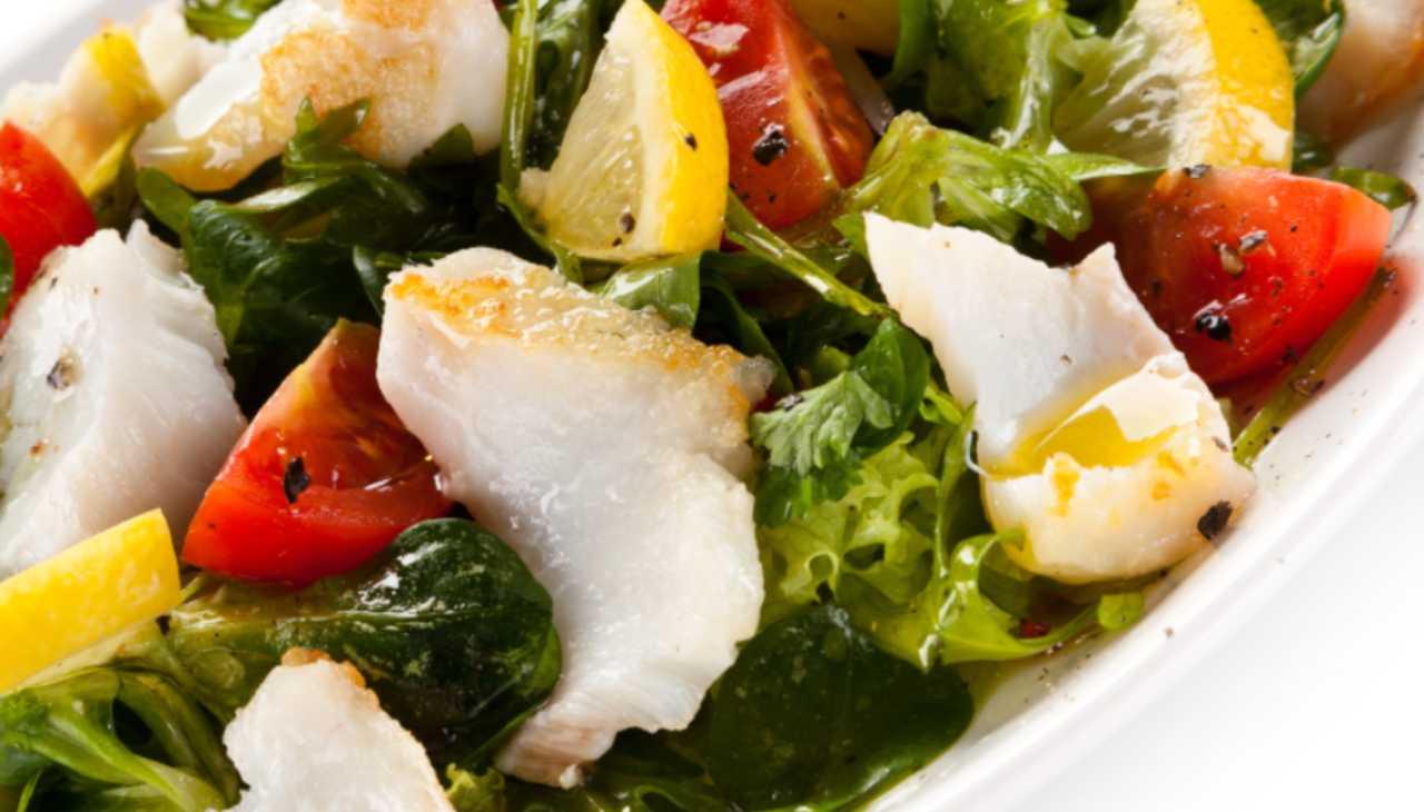 Finger food di pesce e verdura