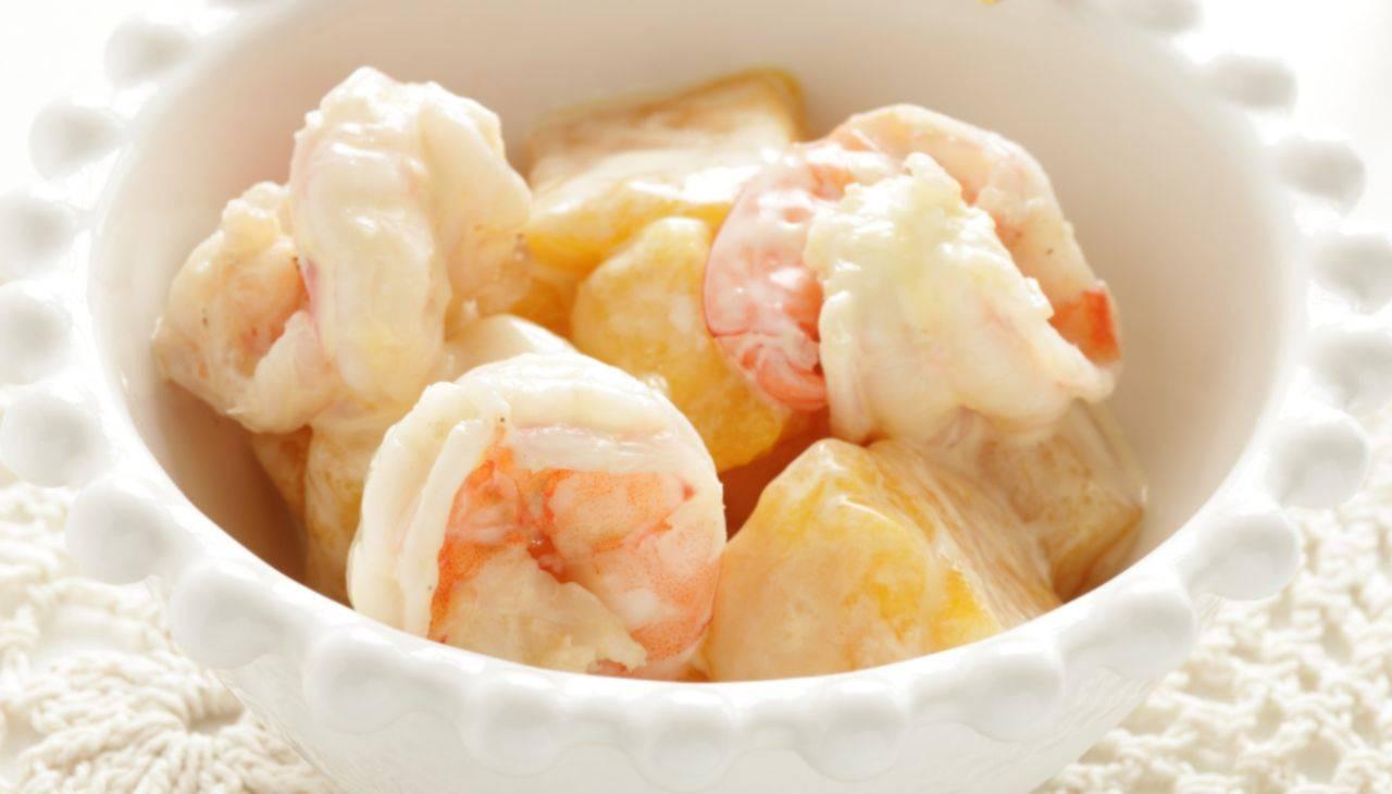 Fingger food di crostacei e patate