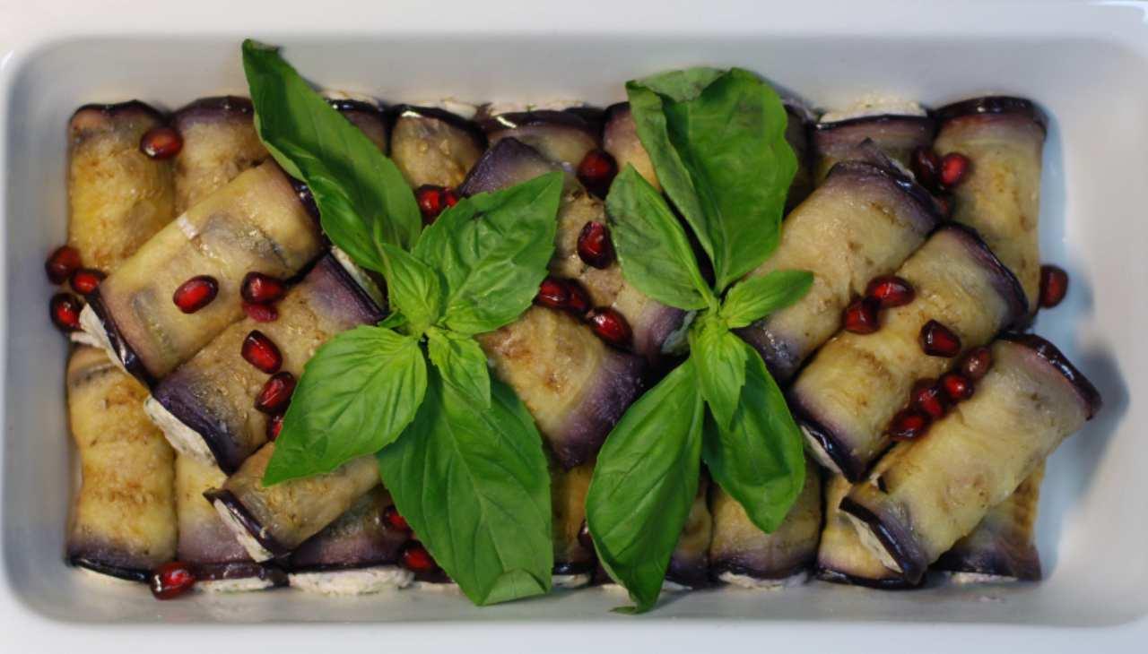 Finger food di verdure con carne