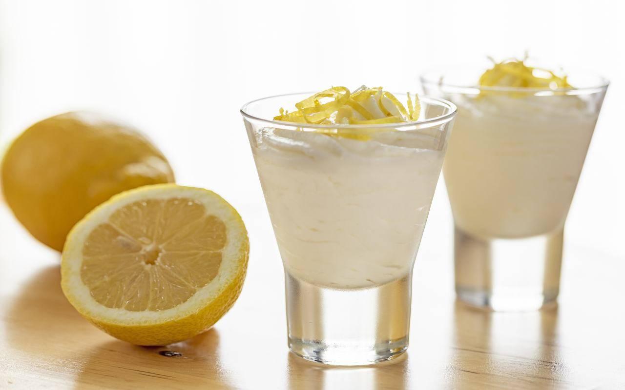mousse limone no panna ricetta FOTO ricettasprint
