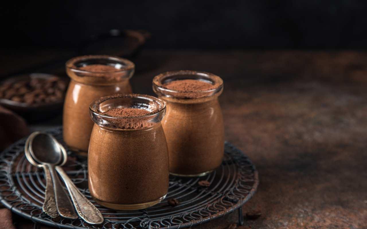 mousse light caffè cioccolato ricetta FOTO ricettasprint
