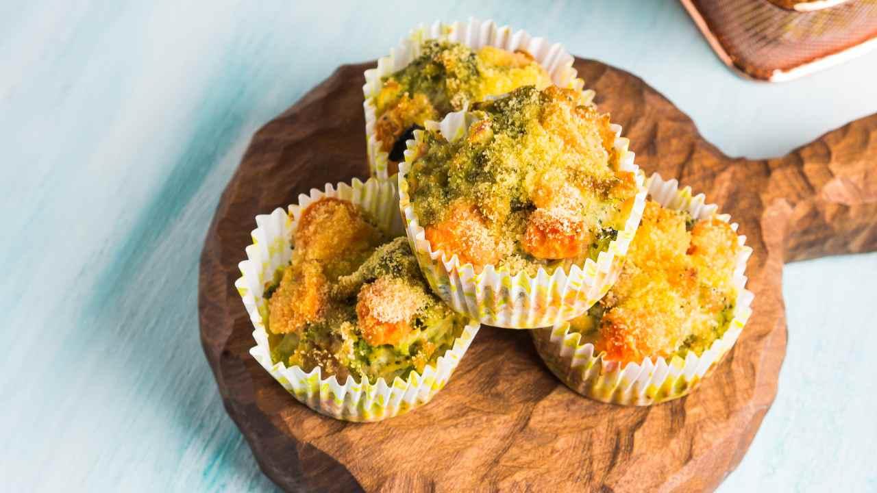 Muffin di broccoli
