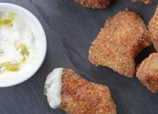 nuggets sogliola mandorle ricetta FOTO ricettasprint