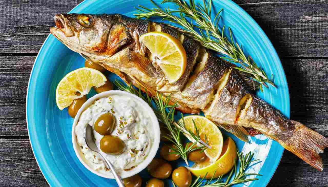Secondo di pesce cotto in forno