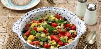 Orecchiette fredde con olive