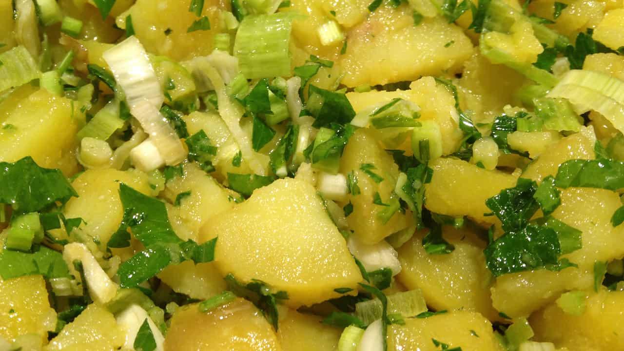 Patate all'insalata con limone