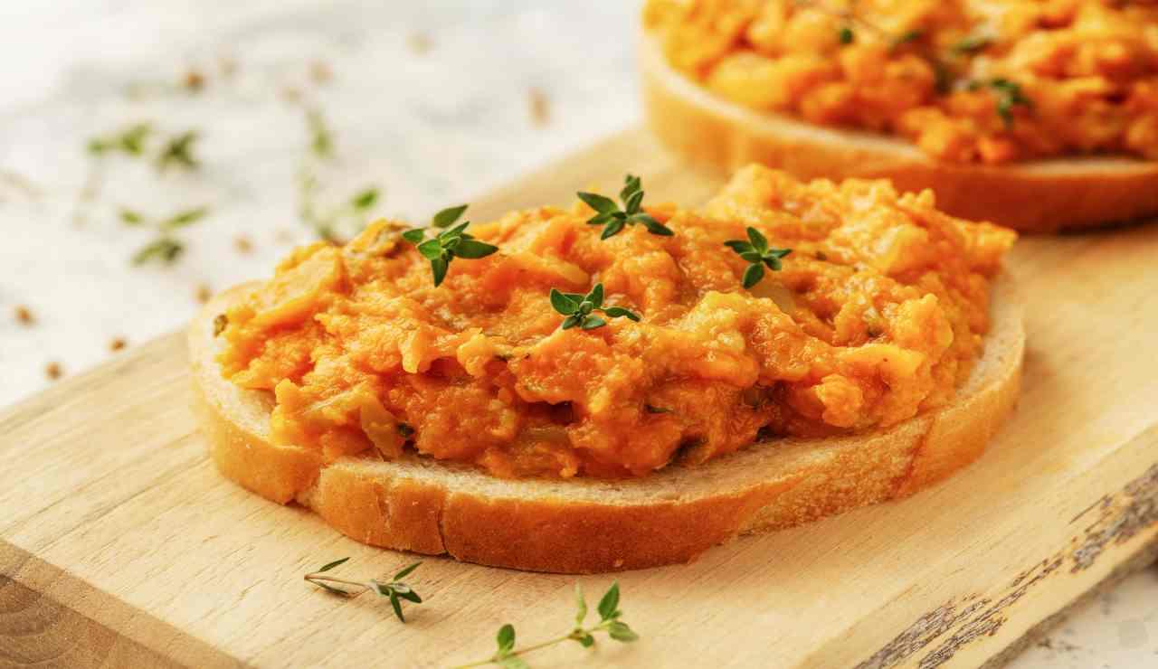Pesto di carote al pistacchio