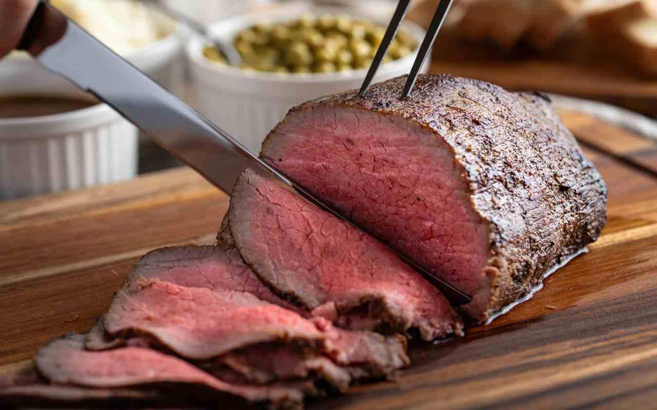 roast beaf bassa temperatura ricetta FOTO ricettasprint