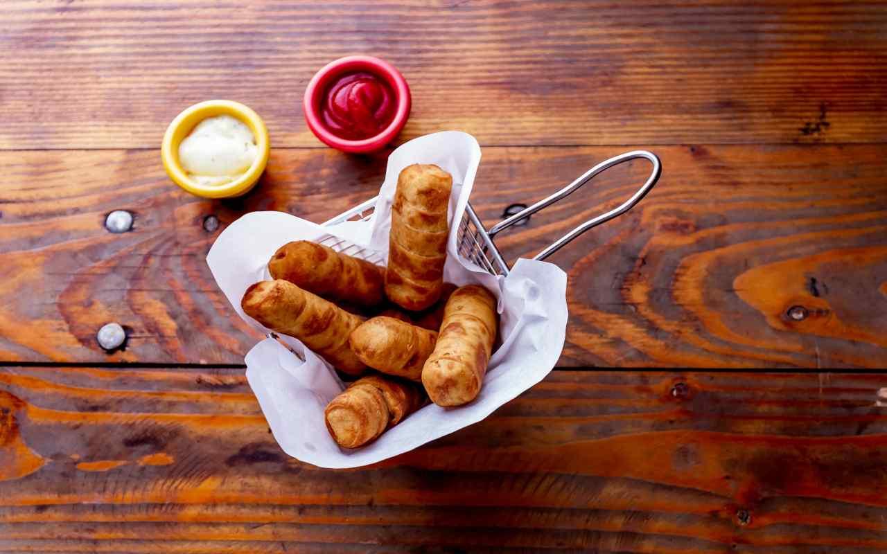tequenos formaggio ricetta FOTO ricettasprint