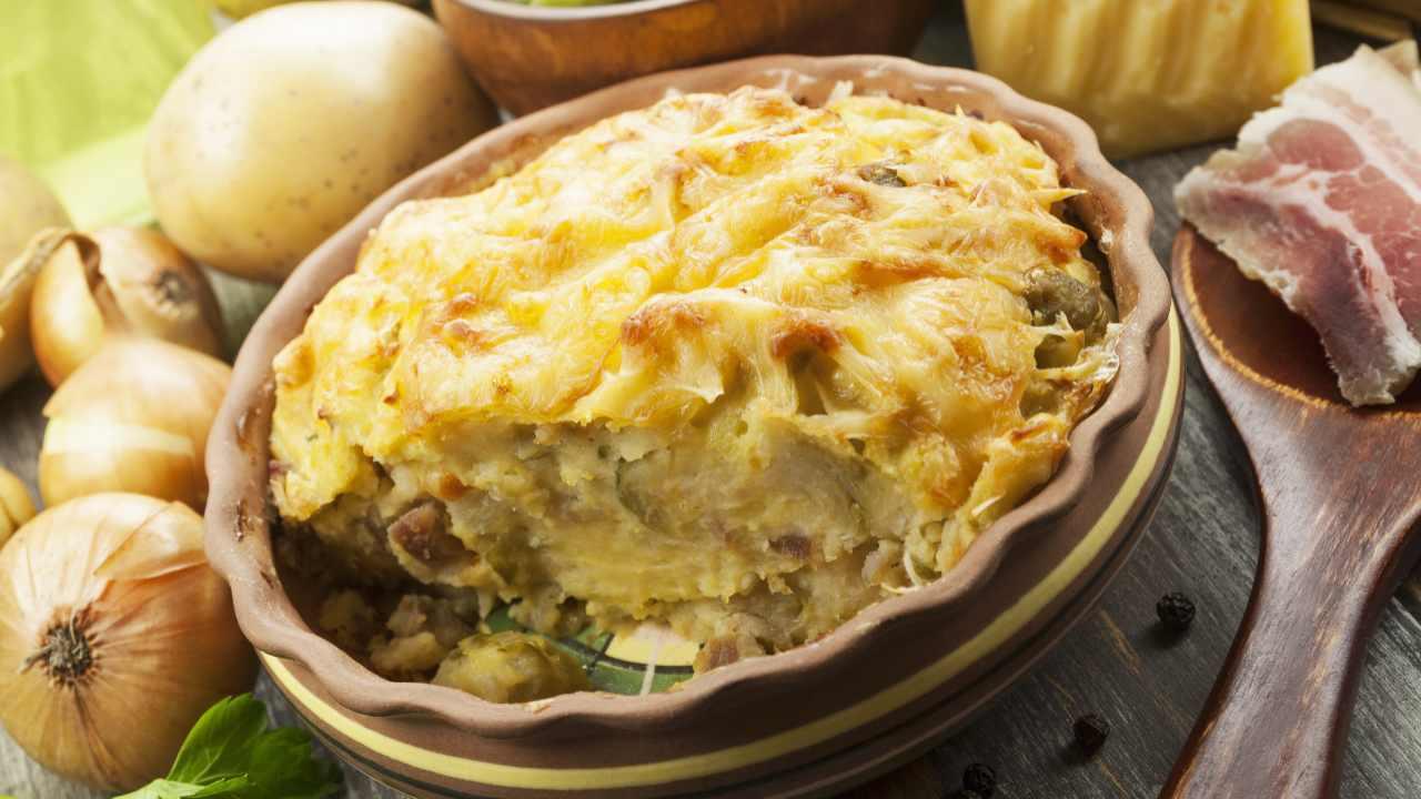 Torta patate e verza