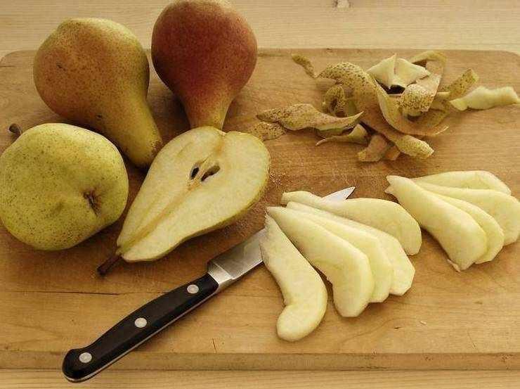 Torta porro pere e gorgonzola FOTO ricettasprint