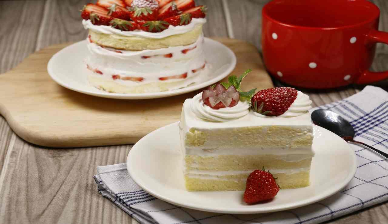 Torta soffice ricotta mascarpone e miele