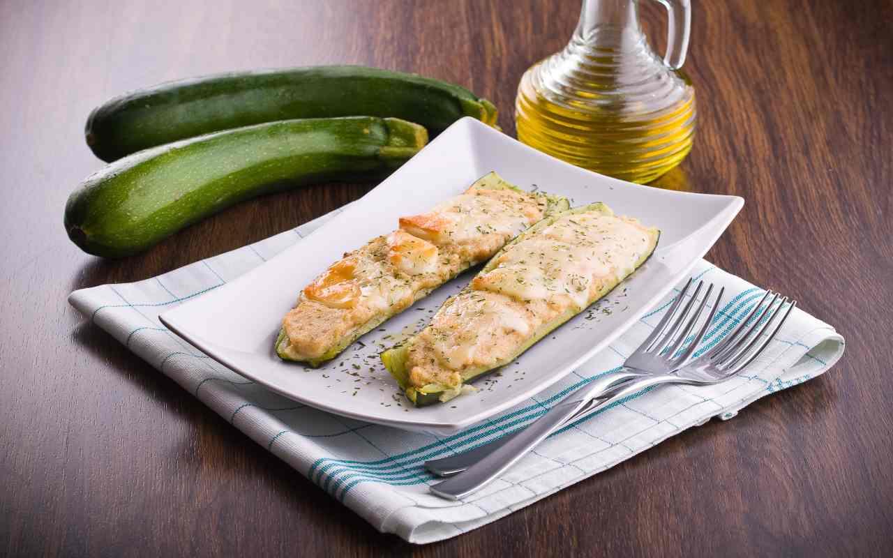 zucchine mozzarella ricetta FOTO ricettasprint