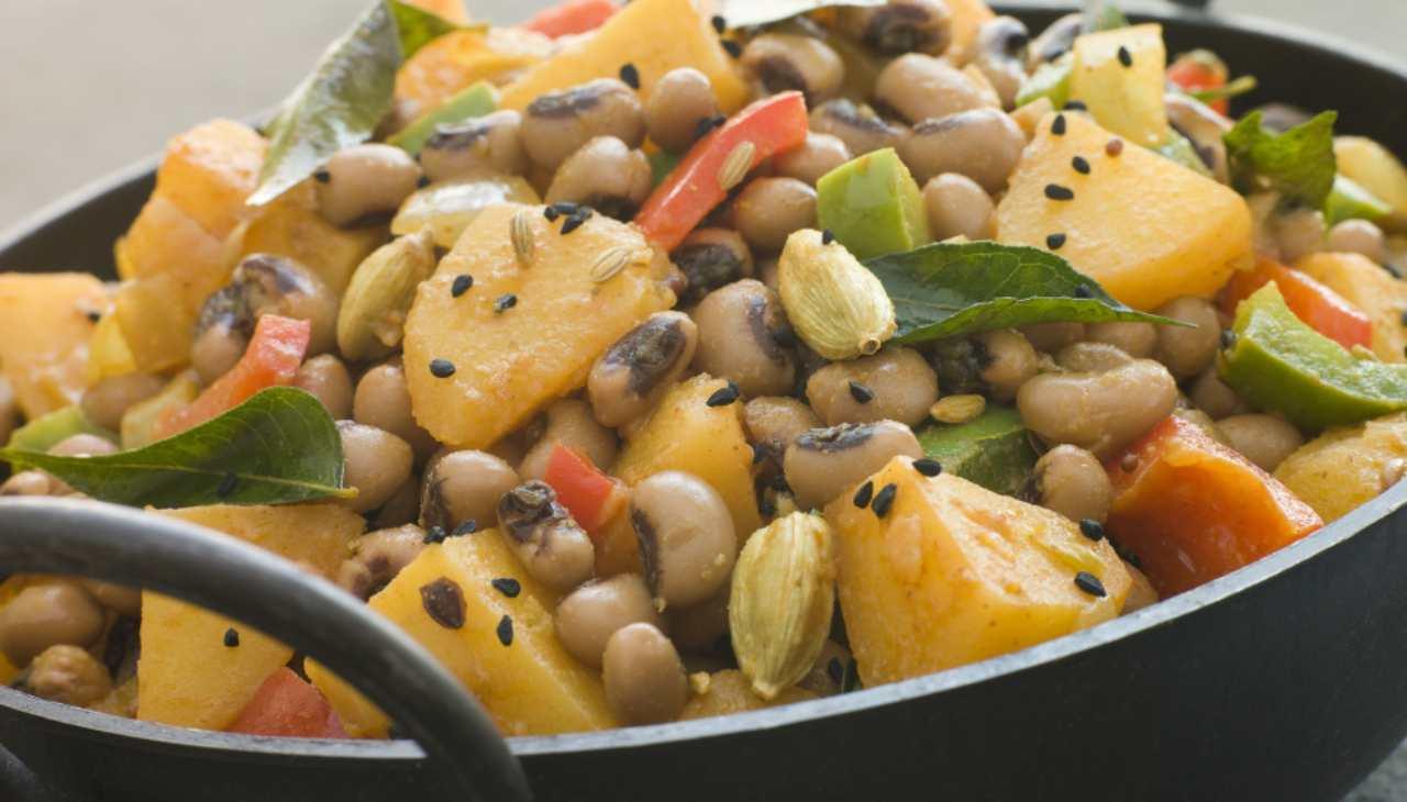 Finger food di ortaggi e spezie