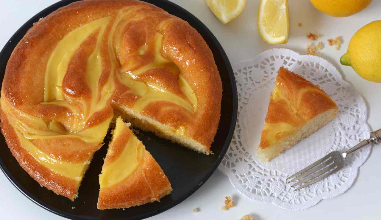 torta nua al limone ricettasprint