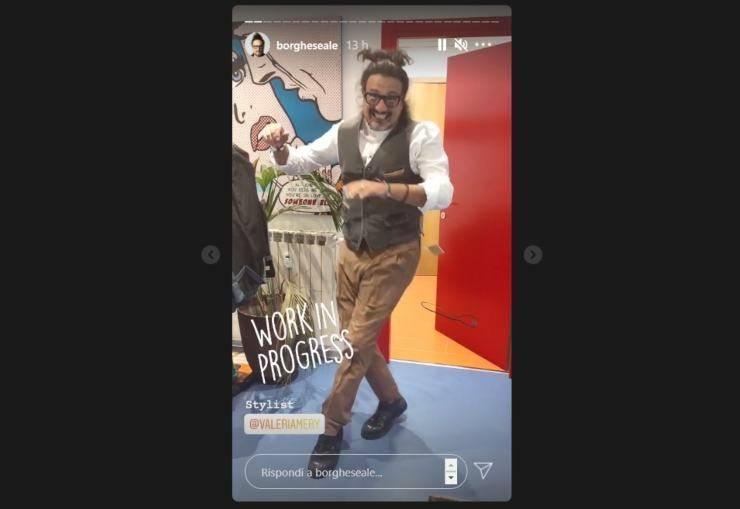 Alessandro Borghese Ballando con le Stelle - RicettaSprint