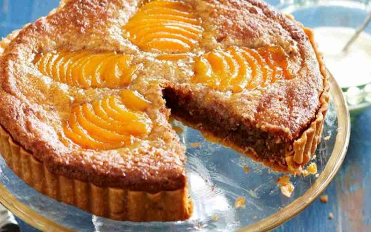 apricot frangipane ricetta FOTO ricettasprint