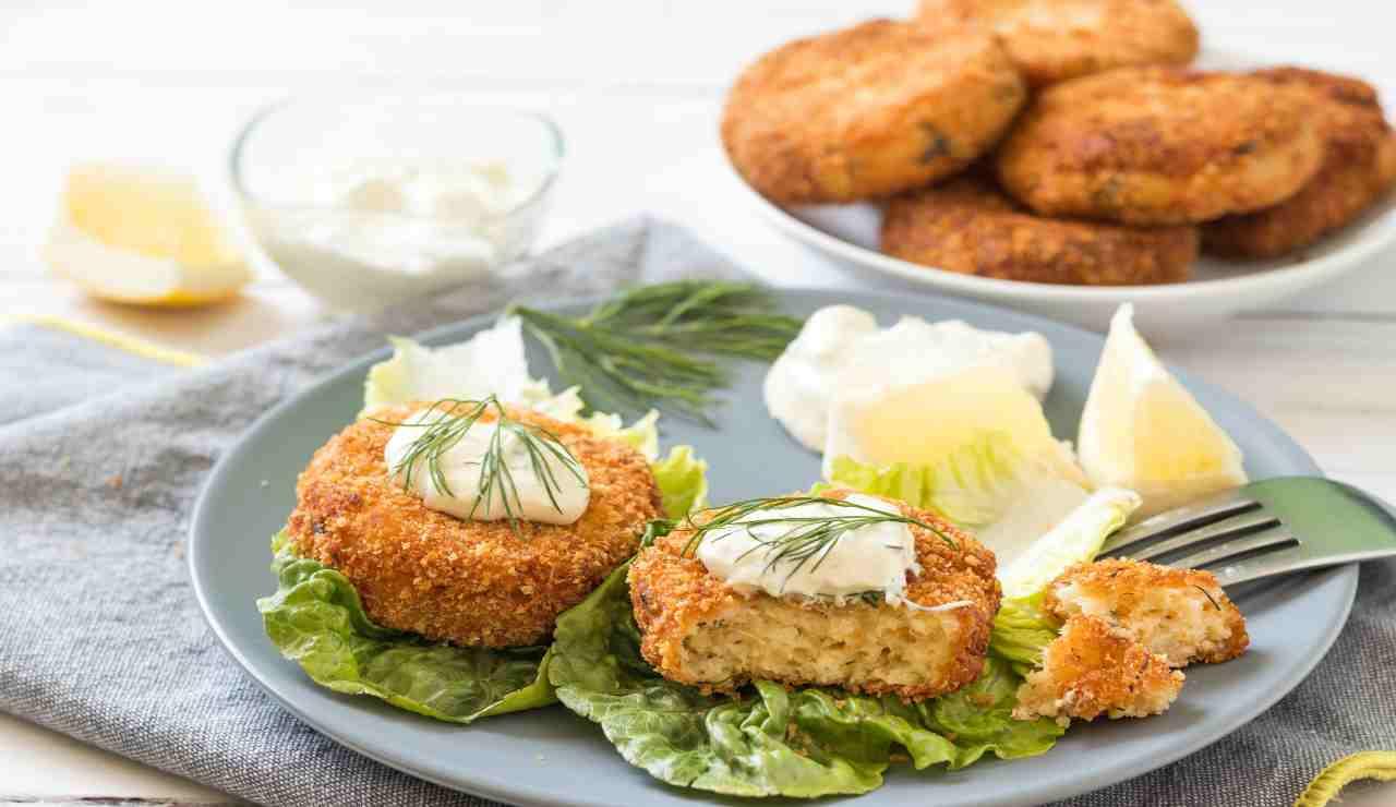 Burger fish salmone e tonno
