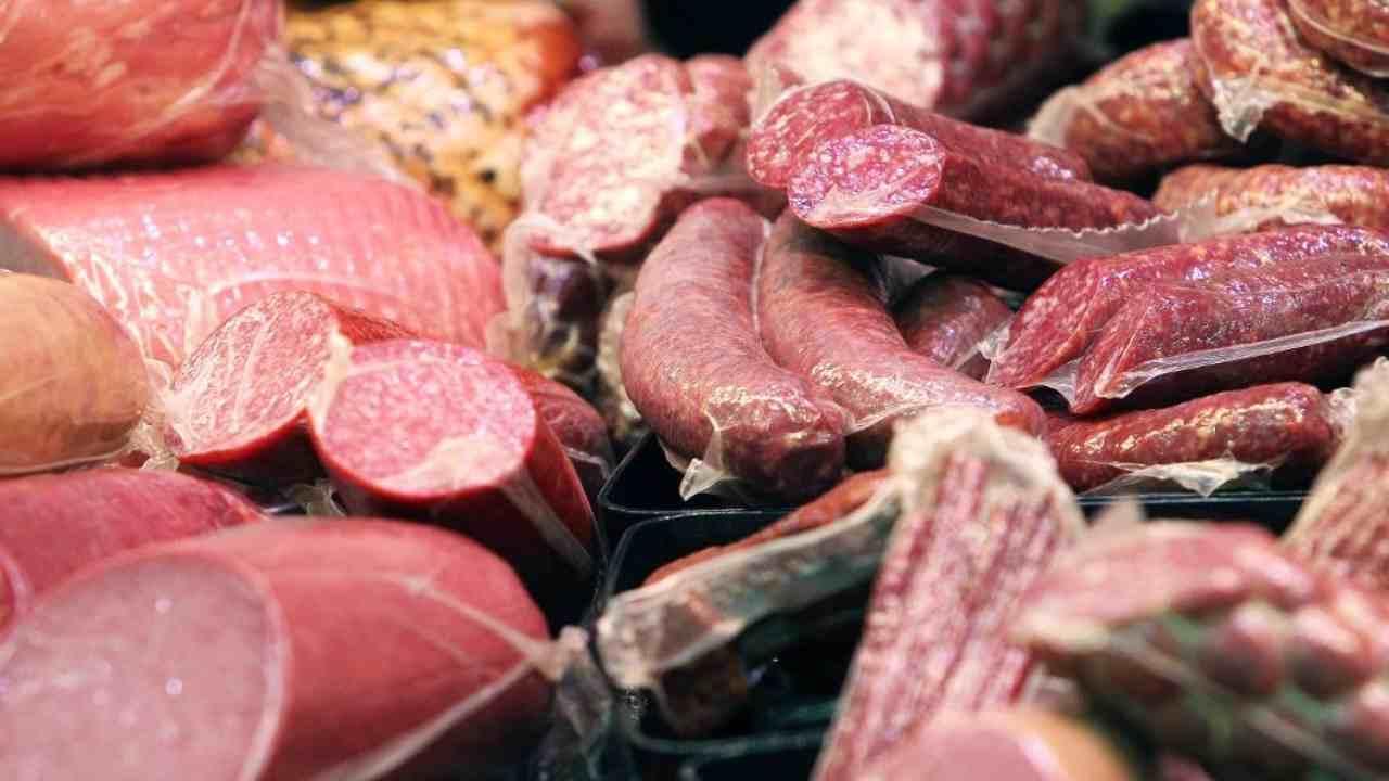Carne processata perché fa male