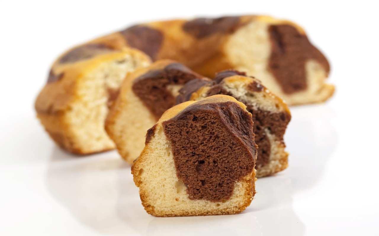 ciambella pan brioche vaniglia cacao ricetta FOTO ricettasprint