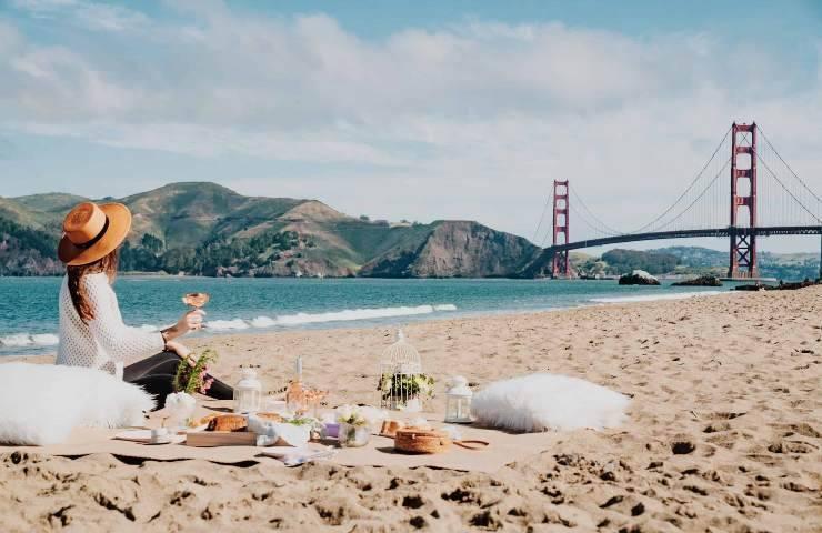 Conservare il cibo in spiaggia