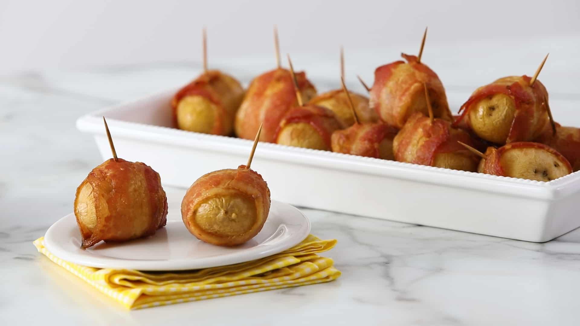 Involtini di prosciutto e patate