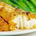 Pesce impanato cotto in forno