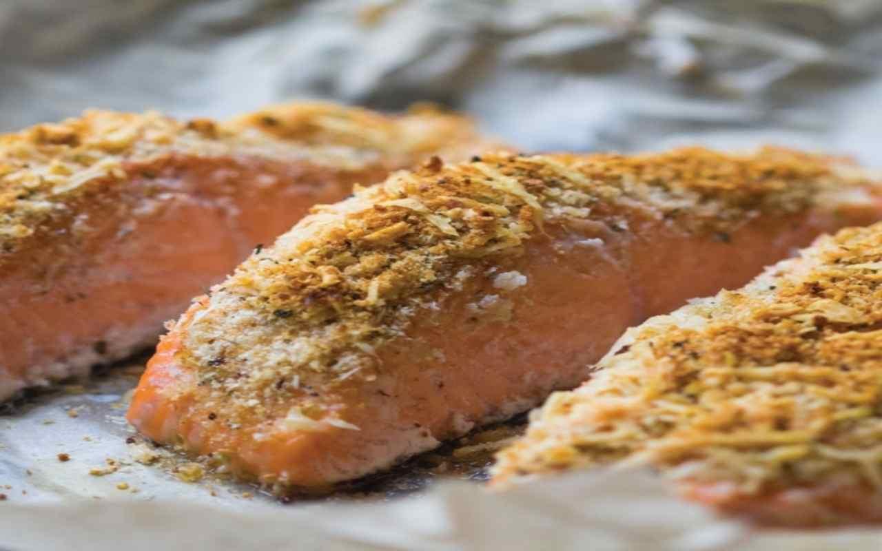 filetti salmone cocco ricetta FOTO ricettasprint