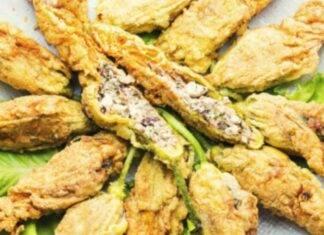Finger food vegetariani con pesce e formaggio