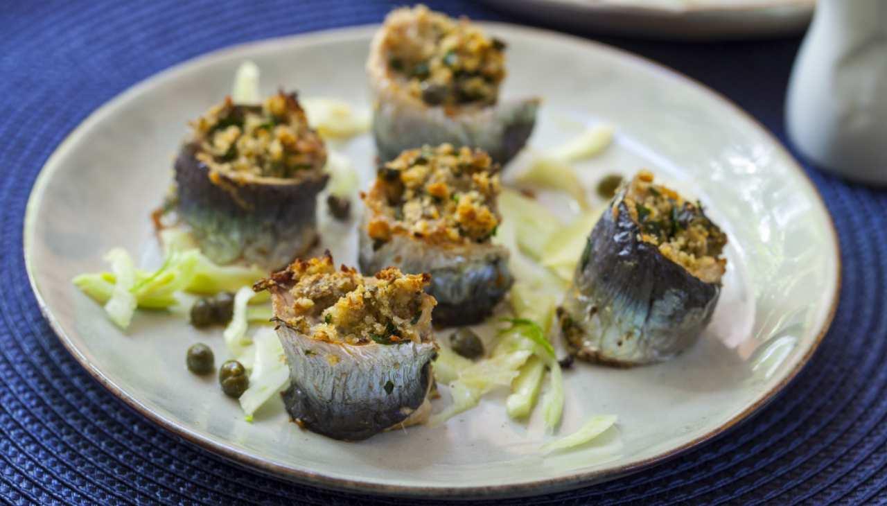 Finger food di pescetti di mare