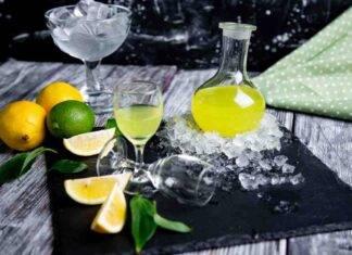 limoncello gin ricetta FOTO ricettasprint